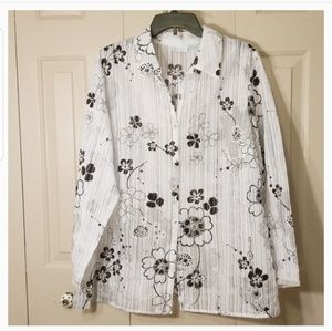 JH Collection button down blouse